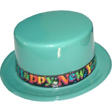 Oud & Nieuw hoed Turquoise