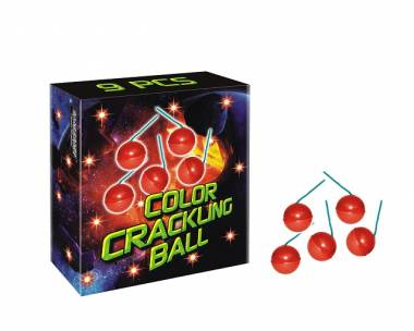 Color Crackling Ball